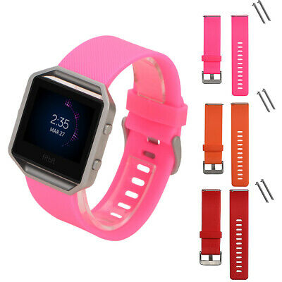 AU2.61 • Buy Replacement Silicone Wrist Band Strap Bracelet Watchband For Fitbit Blaze Watch#