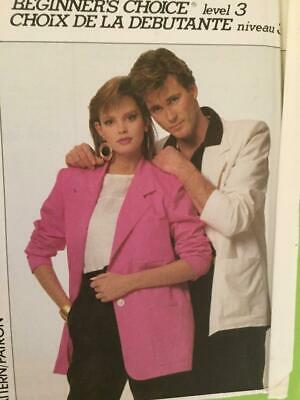 £7.56 • Buy Simplicity Sewing Pattern 8666 Misses Mens Teens Unlined Jacket Size XS Uncut
