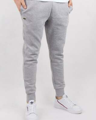 Lacoste Slim Fit Track Pants In Grey Marl - Tracksuit Bottoms, Joggers, Jog Pant • 75£