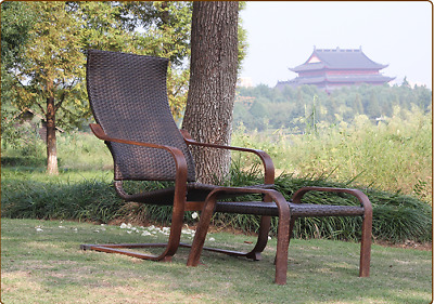 AU138 • Buy New Outdoor Rattan PE Wicker  Furniture Lounge Chair Set