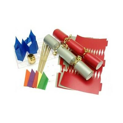 Make Your Own Large 14  Red & Silver Christmas / Wedding Cracker Kits Crafts • 9.99£