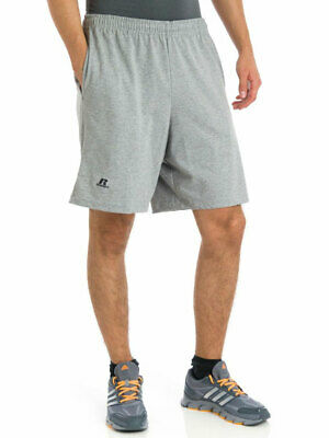 $12.12 • Buy Russell Athletic Men's Basic Cotton Jersey Athletic Pocket Shorts 25843m0