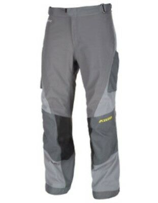 $ CDN625.18 • Buy Klim Carlsbad Gray Adventure Touring D30 Armored Motorcycle Pants Size 34
