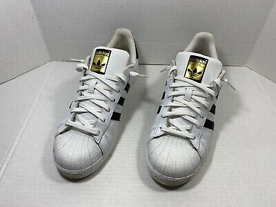 $ CDN52.16 • Buy Adidas Superstar Men's Casual Shoes White Black C77124 Sz 11