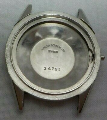 $ CDN11.65 • Buy Vintage Wylers Stainless Steel Wrist  Watch  Case  24723 Watchmaker Parts