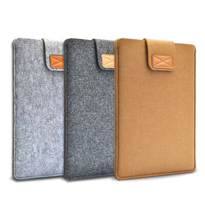 $6.74 • Buy Wool Felt Fashion Sleeve Cover Ultrabook Laptop Case For Macbook Air Pro Retina