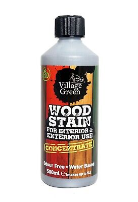 £17.95 • Buy Village Green Wood Stain Concentrate ~ Water-Based ~ Interior & Exterior Use