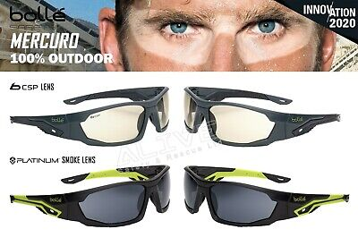 Bolle Safety Glasses MERCURO Spectacles Total Shield 100% Outdoor UV Protction • 13.79£