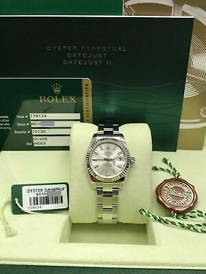 $ CDN6374.40 • Buy Rolex Ladies Datejust Stainless Steel 179174 Silver Dial 2014 Box Papers
