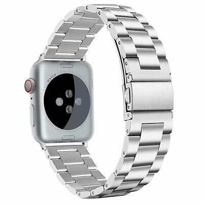 $ CDN37.92 • Buy IWatch Band 42mm/44mm XLarge Series 5 4 3 2 1 Replacement Stainless Steel Silver