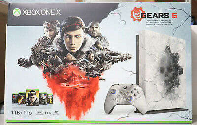 $749.99 • Buy Microsoft Xbox One X Gears 5 Limited Edition Console 1TB BRAND NEW & RARE USA