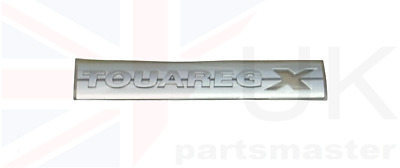 Vw Touareg New Genuine Side Chrome Touaregx Badge Emblem Right O/s 7p6853688a  • 29.68£