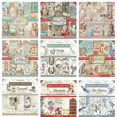 £12.85 • Buy Stamperia - 12x12 Paper Pad - INCLUDES NEW 2021 DESIGNS