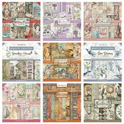 £12.85 • Buy Stamperia - 12x12 Paper Pad - INCLUDES NEW SEPTEMBER/CHRISTMAS 2021 DESIGNS