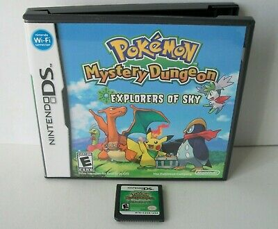 $158.16 • Buy Pokemon Mystery Dungeon Explorers Of Sky Nintendo DS Good Label Game Authentic