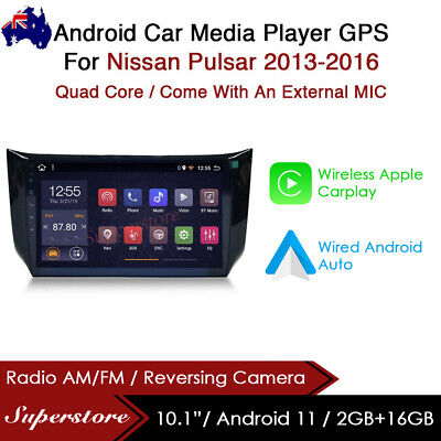 """AU399 • Buy 10.1"""" Android 9.1 Car Stereo Media Player GPS Head Unit For Nissan Pulsar 13-16"""