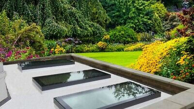 Flat Roof Light / Lantern / Skylight / Roof Glass / Various Sizes / UK DELIVERY • 251£