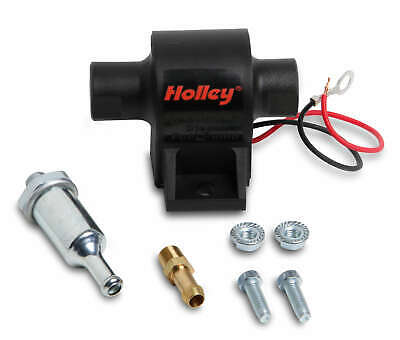 $55 • Buy Holley 25 GPH Mighty Mite 12 Volt Electric Fuel Pump 1.5-4 PSI Gas Diesel E85