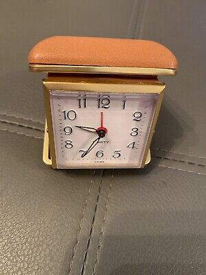 AU10.50 • Buy Equity Vintage Folding Travel Alarm Clock In Working Condition