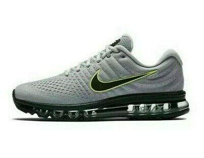 $104.99 • Buy Nike Air Max 2017  Running Shoes Gray Mens 12.5 849559-012 New