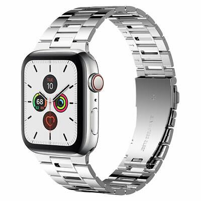 $ CDN45.88 • Buy IWatch Band 42mm/44mm Stylish Breathable Stainless Steel Series 5/4/3/2/1 Silver