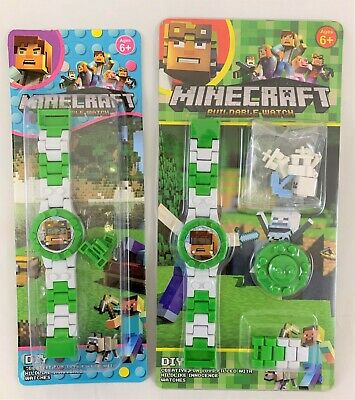 AU14.95 • Buy Minecraft Buildable Watch DIY Toy 6+