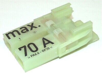 £4 • Buy 2 Way Lucas Rists Max 70A Connector Neautral
