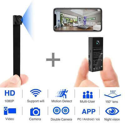 View Details Mini Spy Camera 1080P WiFi Hidden Video Wireless Covert Security...  • 47.72£