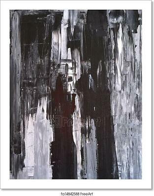 $1.99 • Buy Black And White Abstract Art Art/Canvas Print. Poster, Wall Art, Home Decor