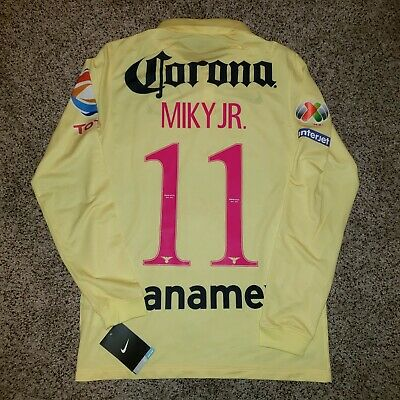 $130 • Buy Nike Club America Jersey Local 14-15, Long Sleeve, Miky Arroyo, Liga Mx