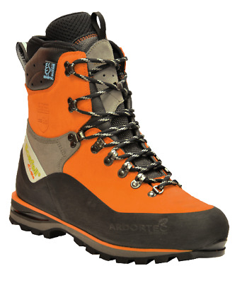 £209 • Buy Arbortec Scafell Lite Class 2 Chainsaw Forestry Safety Boots Orange + FREE Socks