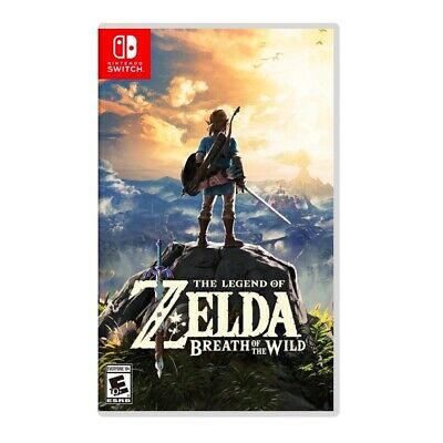 $46.95 • Buy Legend Of Zelda: Breath Of The Wild (Nintendo Switch, 2017) Excellent SHIPS FAST