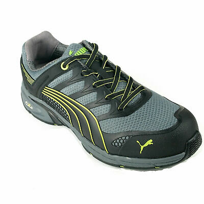 AU99.90 • Buy Puma Grey/Green Men's Safety Shoes Work Boots Composite Toe Fuse Motion Trainer