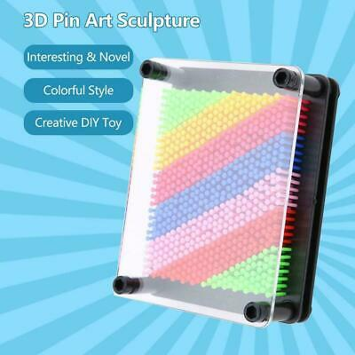 AU11.74 • Buy Pin Art Fun 3D Sculptures Mould Frames Desktop Home Toy Decoration For Children