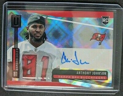 $ CDN4.63 • Buy 2019 Panini Unparalleled ANTHONY JOHNSON RC Auto Rookie  - Tampa Bay Buccaneers