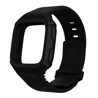 $ CDN12.30 • Buy TPU Silicone Full Coverage Bracelet Watch Band Wrist Strap For Fitbit Versa N#S7