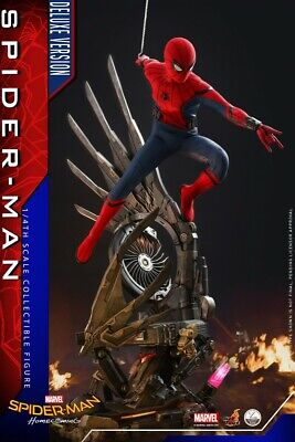 $ CDN1016.77 • Buy Hot Toys QS015 1/4 Spider Man Homecoming Edition 12'' Soldier Deluxe Version