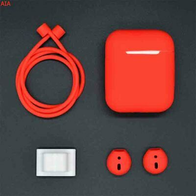 $ CDN8.82 • Buy 4 In 1 Silicone Case Cover Set For Airpods Accessories Anti-lost Strap For Apple