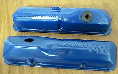 $54.99 • Buy Ford 390 428 Fe Oem Power By Ford Valve Covers Big Block 427 406 410 352 360
