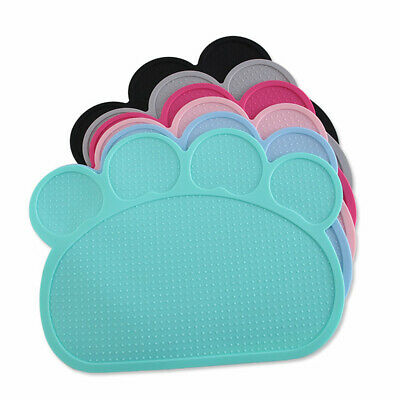 New Silicone Pet Feeding Mat Non Slip Food Feed Dish Bowl Placemat Dog Cat Puppy • 4.92£