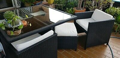 AU450 • Buy 9 Piece Rattan Outdoor Setting - Compact