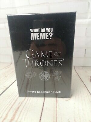 AU19.04 • Buy What Do You Meme Game Of Thrones Photo Expansion Pack 2018