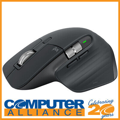 AU139 • Buy Logitech MX Master 3 Advanced Wireless Mouse - Graphite 910-005698