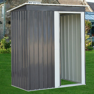 Outdoor Shed Storage 5ft X 3ft Metal Garden Mower Bike Box Container Tools Sheds • 149.95£