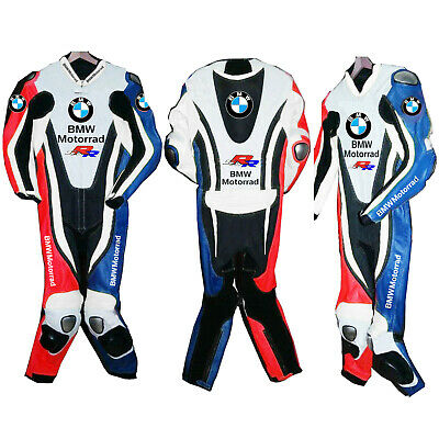 $229.99 • Buy BMW Motorcycle Leather Suit Motorbike Racing Leather Biker 1PC Armors Protective