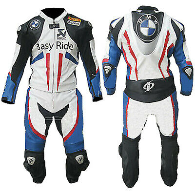 $199.99 • Buy BMW 1PC Motorcycle Leather Suit Motorbike Racing Leather Biker Armors Protective