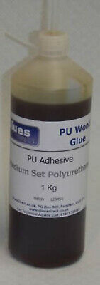 D4 Polyurethane Glue PU Wood Timber Adhesive - 10 Minute Working Time - 1 Litre • 20£