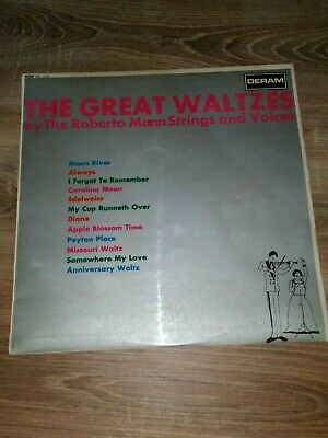The Great Waltzes By The Roberto Man Strings And Voices Sml 1010 Vinyl Record LP • 5£