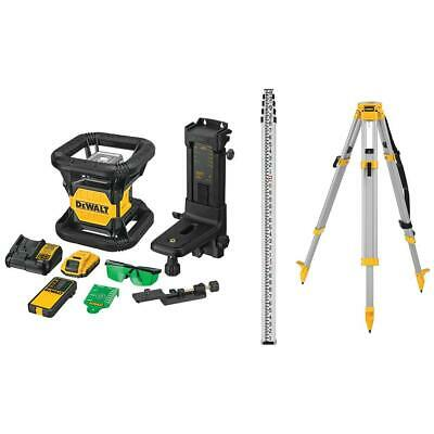 $1595 • Buy DeWalt DW079LGK 20V MAX Self-Leveling IP67 Class 3 Green Rotary Laser Kit