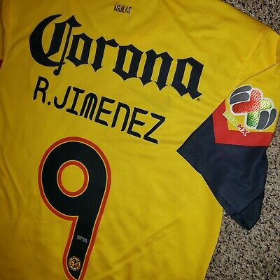 $150 • Buy Nike Club America Jersey Local 2013, Final Liga Mx, Raul Jimenez Size M